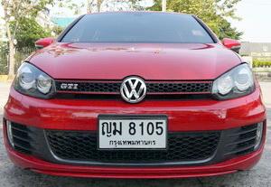 2011 VOLKSWAGEN GOLF 2.0 GTI  AUTO สีแดง