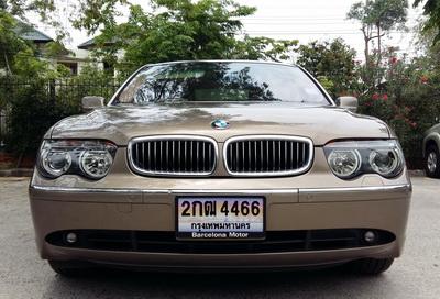 2005 BMW 730LI (E66) สีน้ำตาล