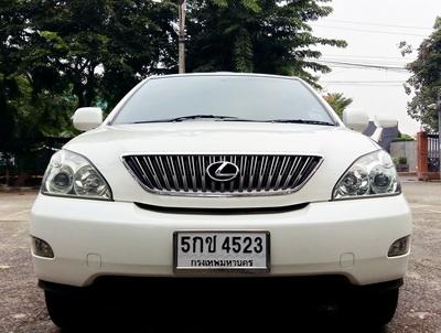 2007 TOYOTA HARRIER 240G สีขาว
