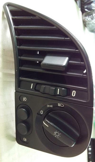 สวิทซ์ไฟหน้า สวิทซ์ไฟตัดหมอก และช่องลมแอร์ขวา BMW E36