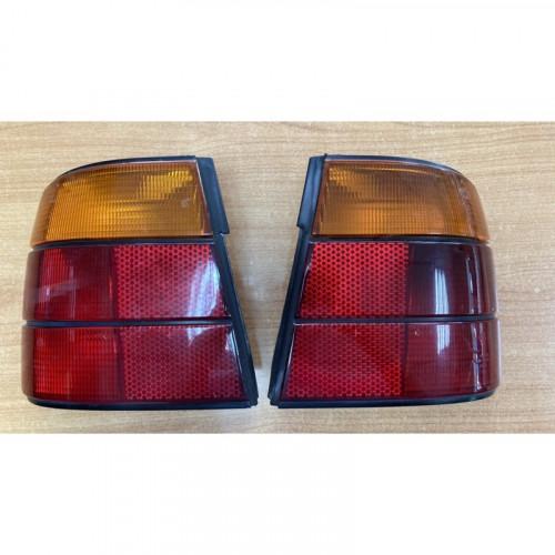 BMW E34 ไฟท้ายแท้ L+R ส้มแดง