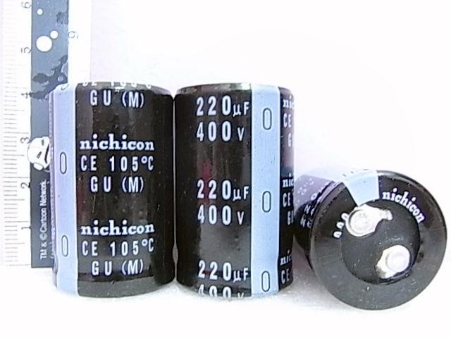 C Nichicon 220MFD 400V