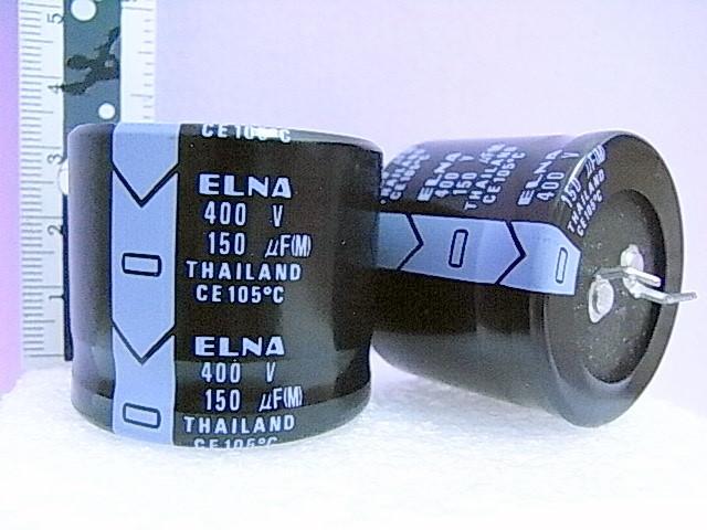 C Elna 150 uF 400V
