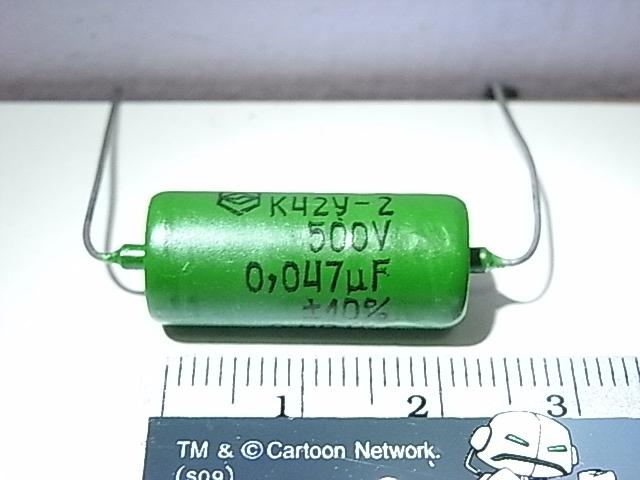 C 0.047 MFD 500V PIO