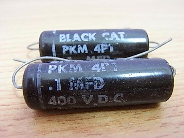 C Black Cat 0.1 MFD 400VDC