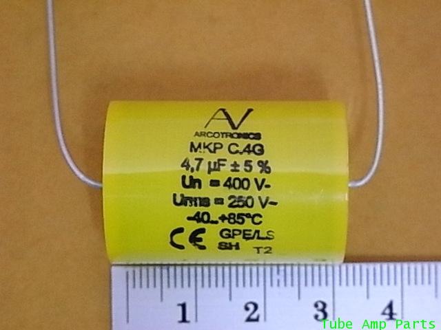 C 4.7 MFD 400VDC