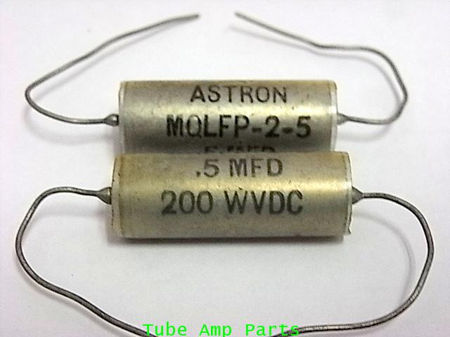 C 0.5 MFD 200V PIO Capacitor