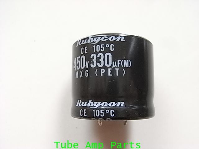 C Nichicon 330 uF 450V