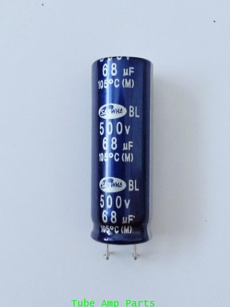 Electrolytics Capacitor 68uf 500V