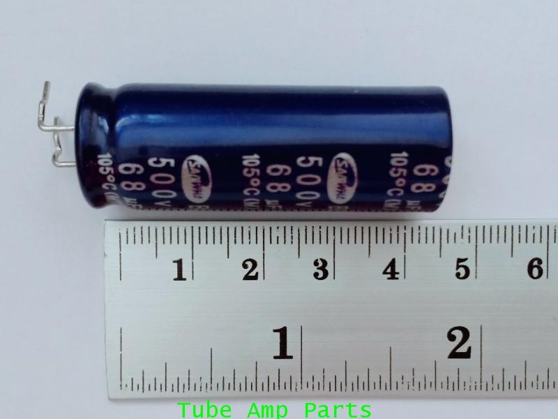 Electrolytics Capacitor 68uf 500V 2