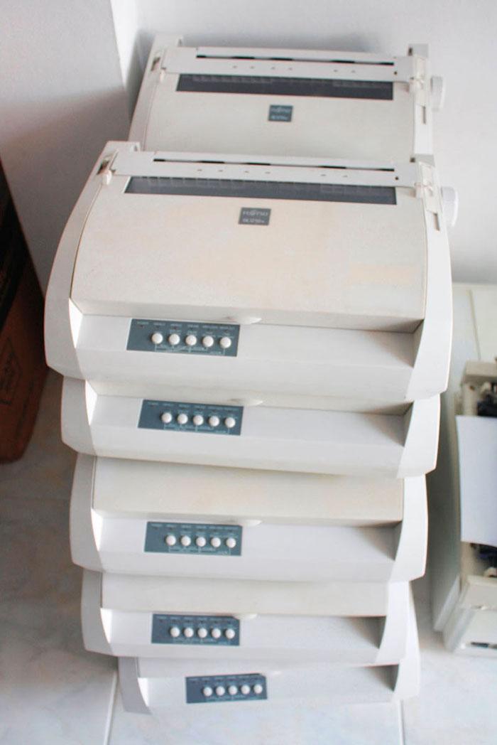 Printer fujitsu DL3750+