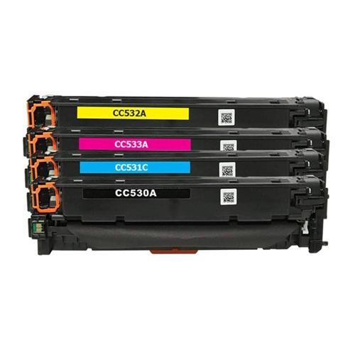 TONER HP CC530,CC531,CC532,CC533 NEW