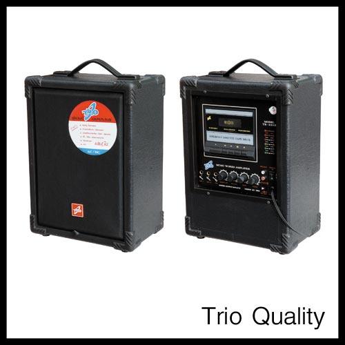 ตู้แอมป์ TRIO ขนาด 8 นิ้ว มีเทป รุ่น TR-850II