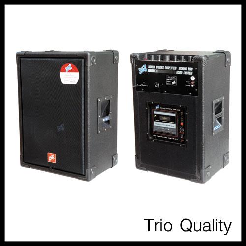 ตู้แอมป์ TRIO ขนาด 12 นิ้ว 120W มีเทป รุ่น TR-120/101D