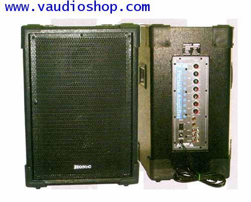 ตู้แอมป์ HONIC ขนาด 10 นิ้ว รุ่น PTA-250