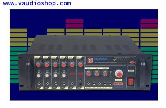 POWER MIXER AC/DC 200W ROYAL PCE-320S