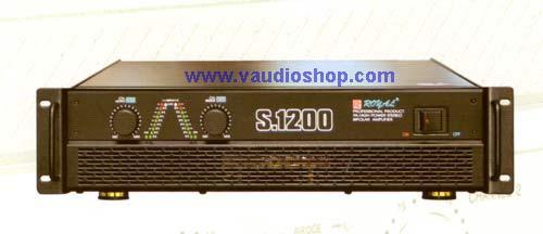 Power Amp ROYAL S-1200