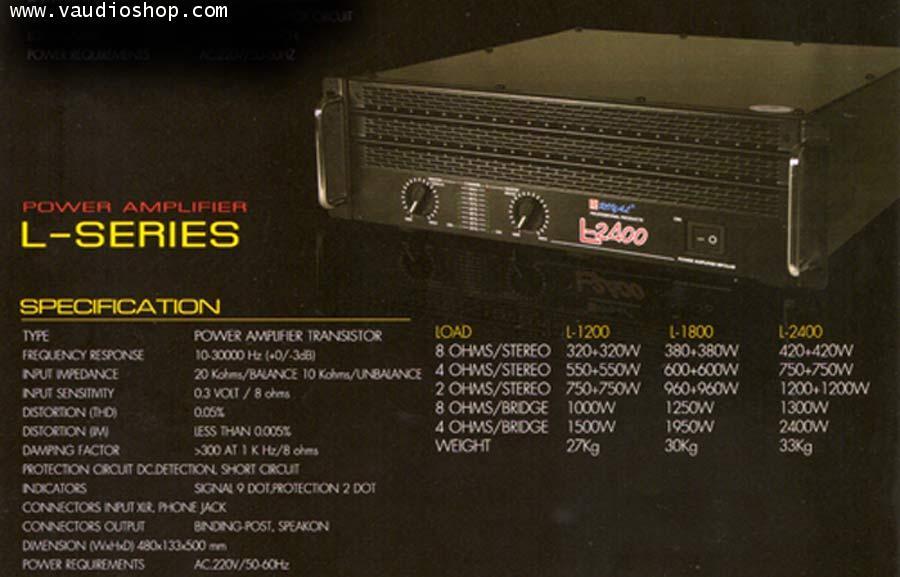 Power Amp ROYAL L-2400
