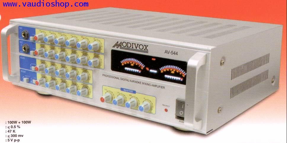 Power Mixer Karaoke MODIVOX AV-544