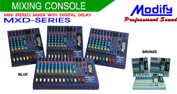 MIXER MODIFY MXD-802