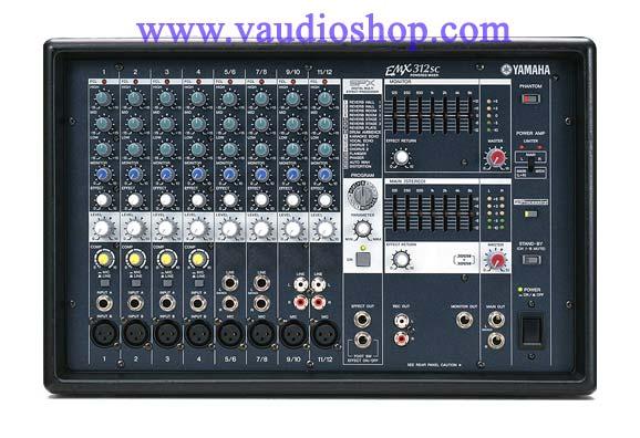 Power Mixer YAMAHA EMX312SC