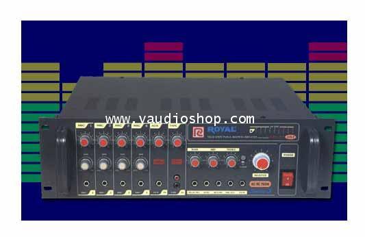 POWER MIXER AC/DC 650W ROYAL PCE-365S