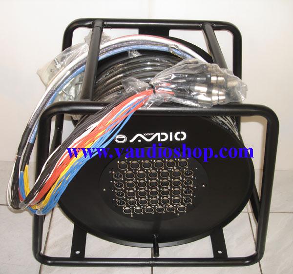 สายมัลติคอร์ AJ audio รุ่น SB-32R8-60M แบบมีล้อ