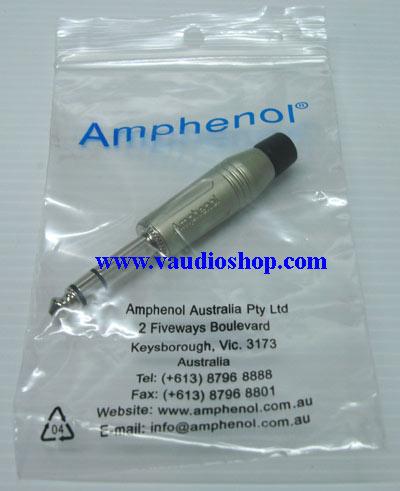 AMPHENOL ACPS-GN ปลั๊กไมค์ ST รุ่นตัวตรง