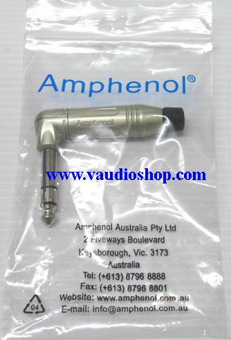 AMPHENOL ACPS-RN ปลั๊กไมค์ ST รุ่นตัวงอ