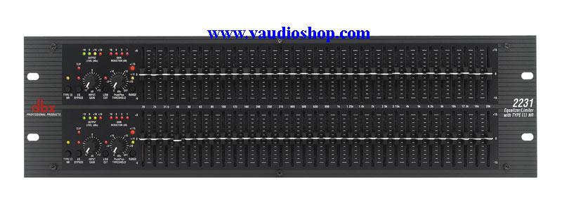 dbx 2231 Dual Channel 31-Band EQ with Limiter (ของแท้ มหาจักร)