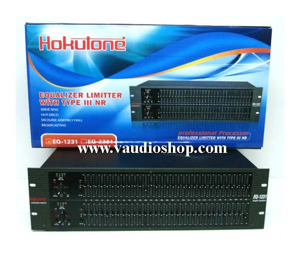Stereo Graphic Equalizer 31x2 HOKUTONE EQ-1231