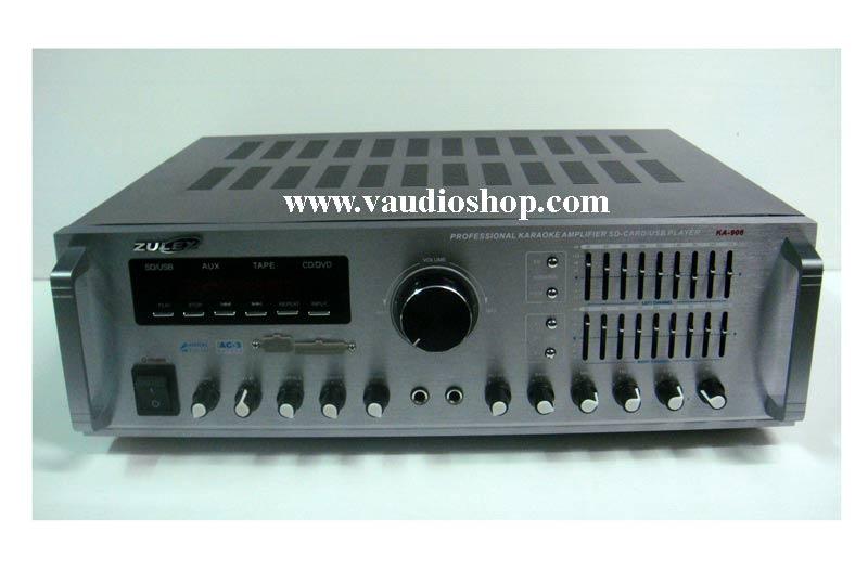 Power Mixer Karaoke ZULEX KA-906 (USB/SD CARD)