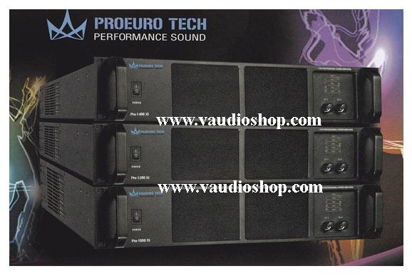 POWER AMP ยูโรเทค PROEURO TECH PRO-1400 XI