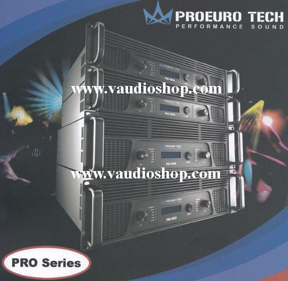 POWER AMP ยูโรเทค PROEURO TECH PRO-1900