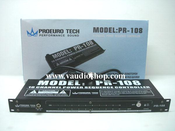 Power Sequence Controller EUROTECH PR-108