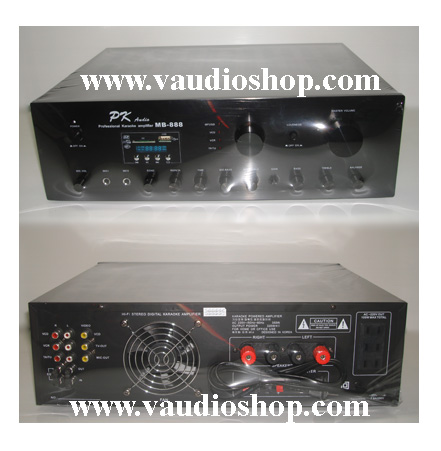 Karaoke Amp PK Audio MB-888 (USB/SD CARD)