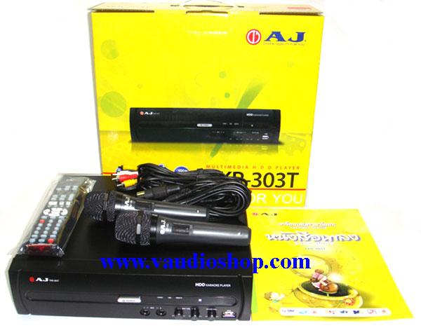 AJ เครื่องเล่นคาราโอเกะ HDD Karaoke Player AJ TKR-303T