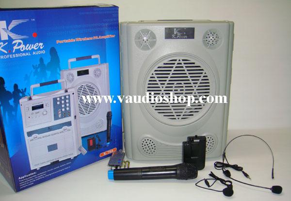 ตู้แอมป์อเนกประสงค์ K.Power รุ่น K-780USB (USB/SD/ไมค์ลอยถือ หนีบ คาด/แบตแห้ง)