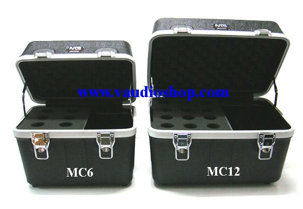 RACK ABS สำหรับเก็บไมโครโฟน แบบ 6 ช่อง NTS ABS-MC6