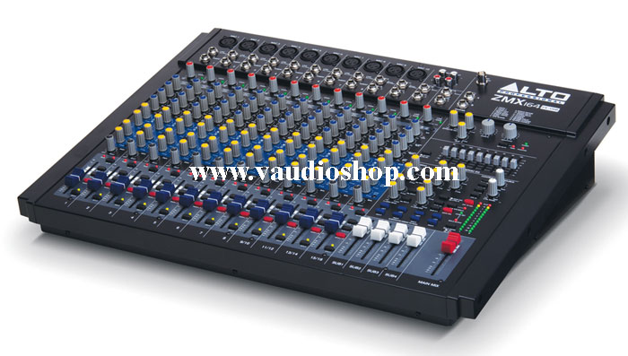 MIXER ALTO ZMX 164FXU (16-Channel Mixer with Effects and USB)