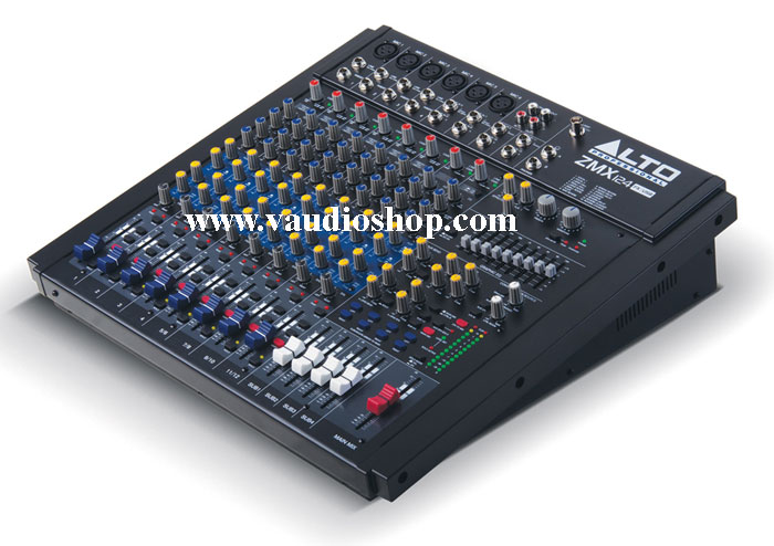 MIXER ALTO ZMX 124FXU (12-Channel Mixer with Effects and USB)