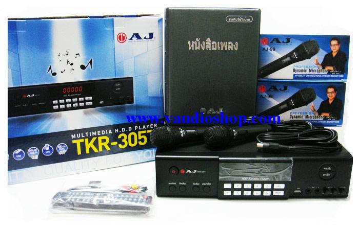 AJ เครื่องเล่นคาราโอเกะ HDD Karaoke Player AJ TKR-305T