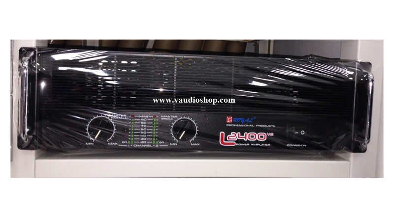 Power Amp ROYAL L-2400 MKII