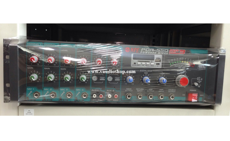 Power Mixer NPE PDA-550 MP3