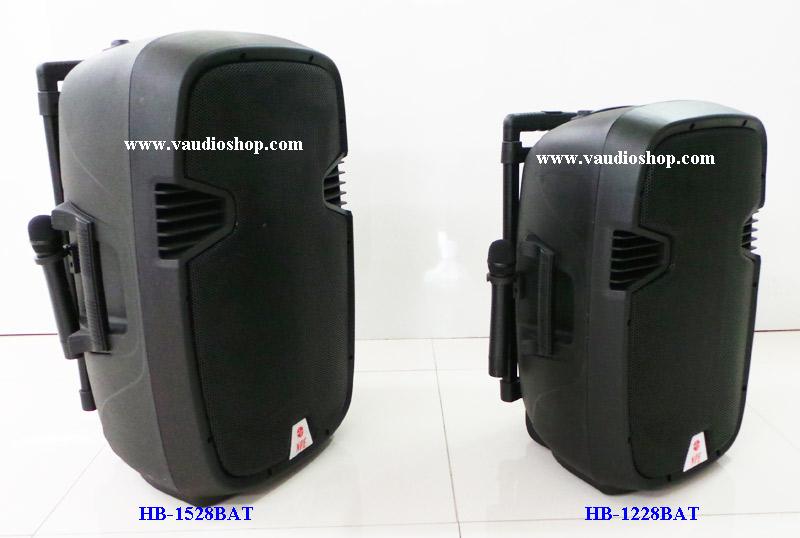 ตู้แอมป์ 15 นิ้ว NPE รุ่น HB-1528BAT (ไมค์ลอย2ตัว/แบตแห้ง/USB/SD CARD)