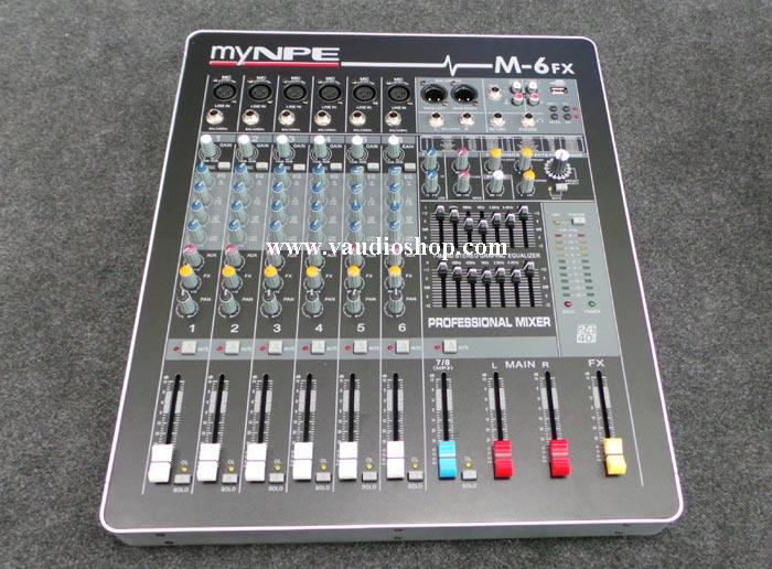 Mixer My NPE M-6FX