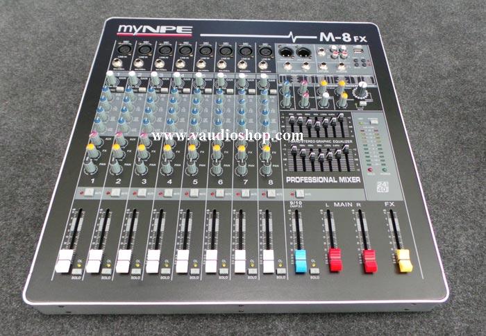 Mixer My NPE M-8FX