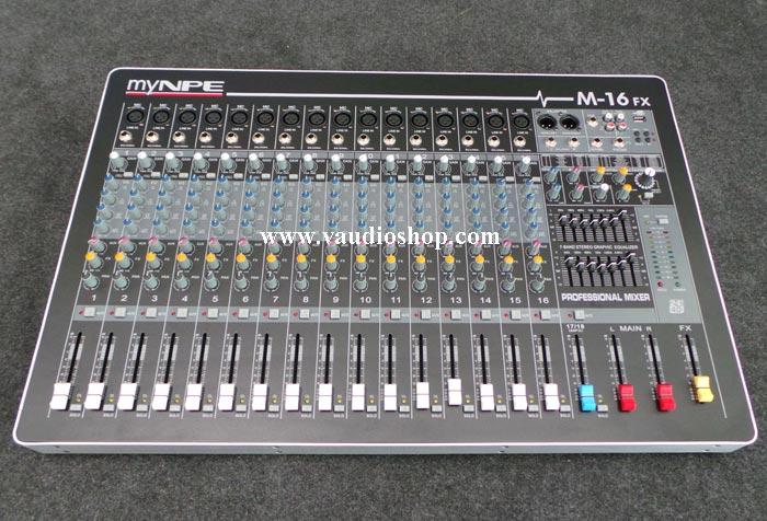 Mixer My NPE M-16FX