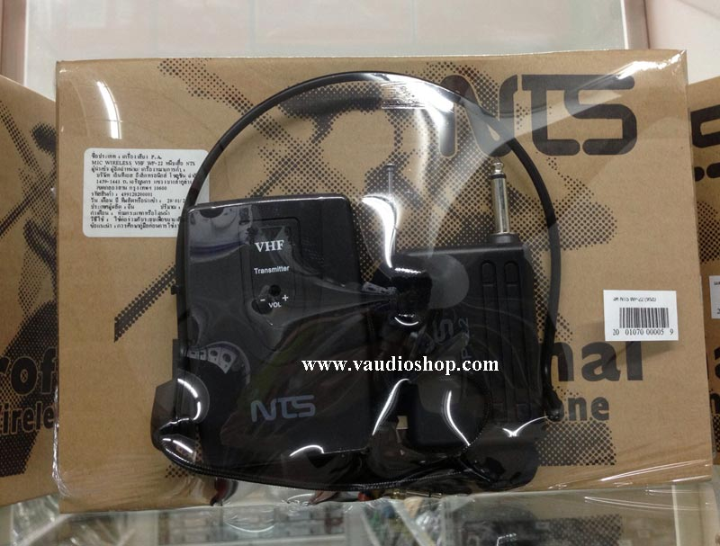 Wireless Microphone NTS WP-22 หนีบ/คาด