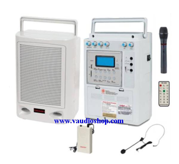ตู้แอมป์อเนกประสงค์ DECCON PWS-230UTB USB/SD CARD/MP3/FM